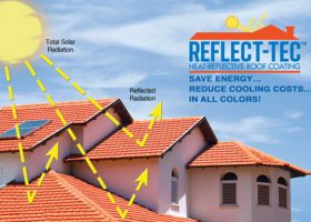 How Reflect Tec 174 Works Textured Coatings Of America