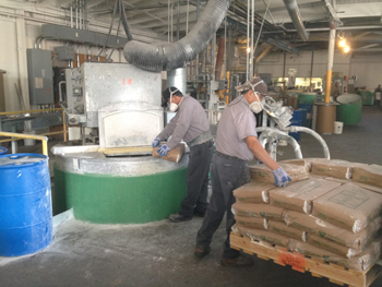 Photo of our manufacturing plant in Los Angeles, California